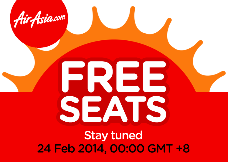 Airasia FREE SEATS Feb_2014